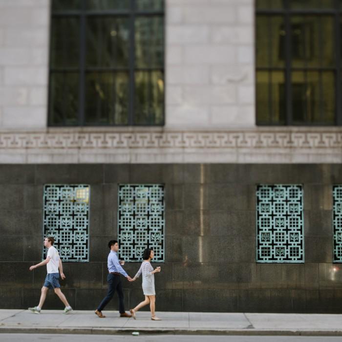 Alina + Stuart | Financial District, Boston