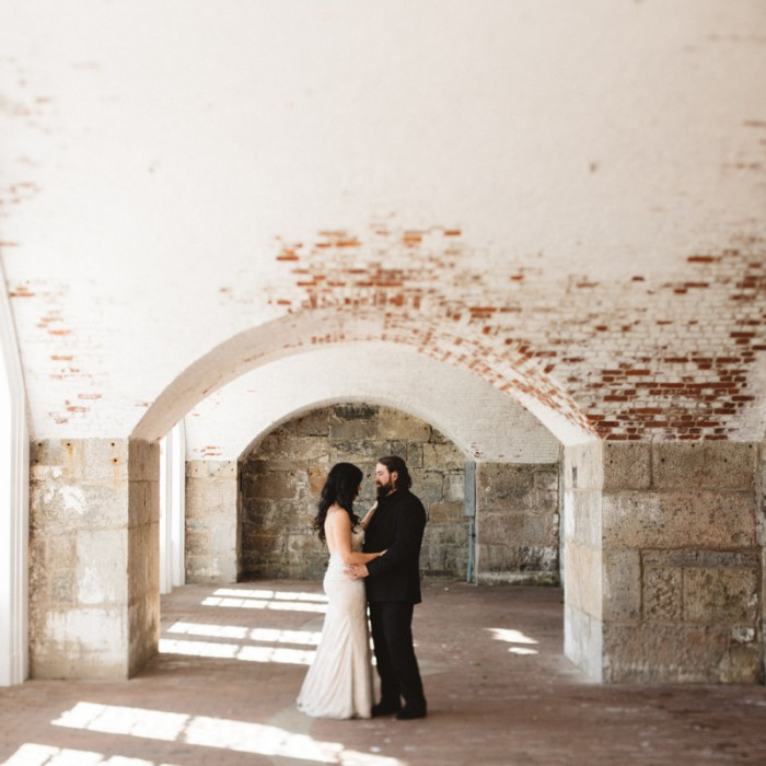 Jenn + Felix | Portrait Preview / Fort Adams Trust